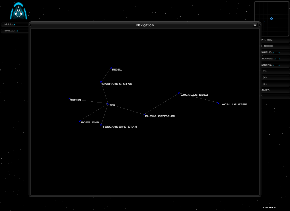 Nav map screenshot